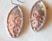 Copper and sterling silver